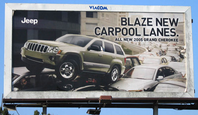 Yes, a real SUV ad confirming what we all suspected...